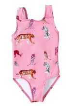 Load image into Gallery viewer, Girls Tigres Fresa Swimsuit - Roseland y Mar