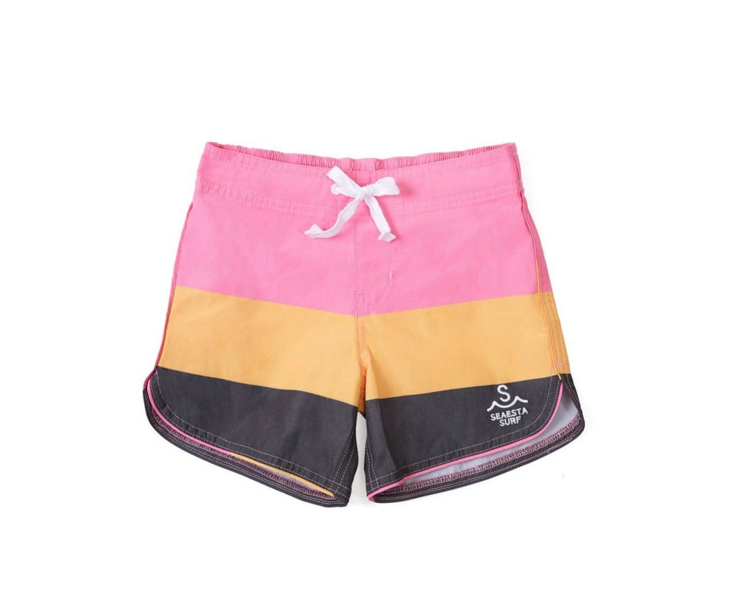 Kids Bubble Gum Boardshorts - Roseland y Mar