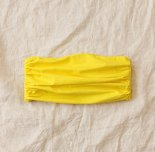 Load image into Gallery viewer, MASKANA UV50 Waterproof Gaiter Face Mask, in Bee Yellow - Roseland y Mar