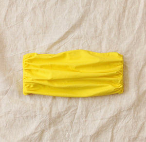 MASKANA UV50 Waterproof Gaiter Face Mask, in Bee Yellow - Roseland y Mar