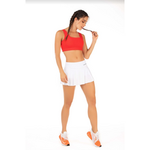 Load image into Gallery viewer, White Chamela Skort - Roseland y Mar