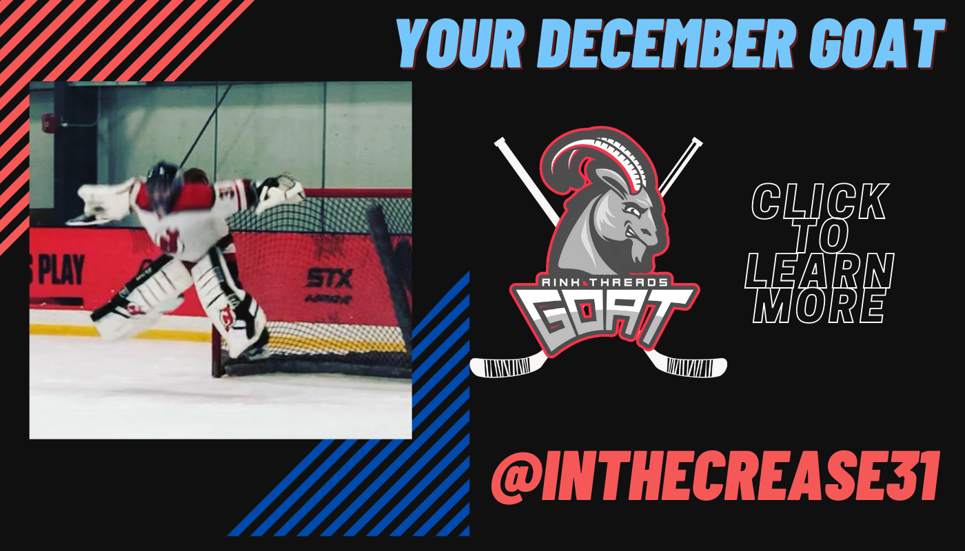 Your December GOAT: @inthecrease 31. Click to learn more.