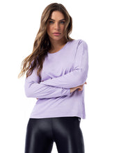 Load image into Gallery viewer, Long Sleeve Violet Shirt