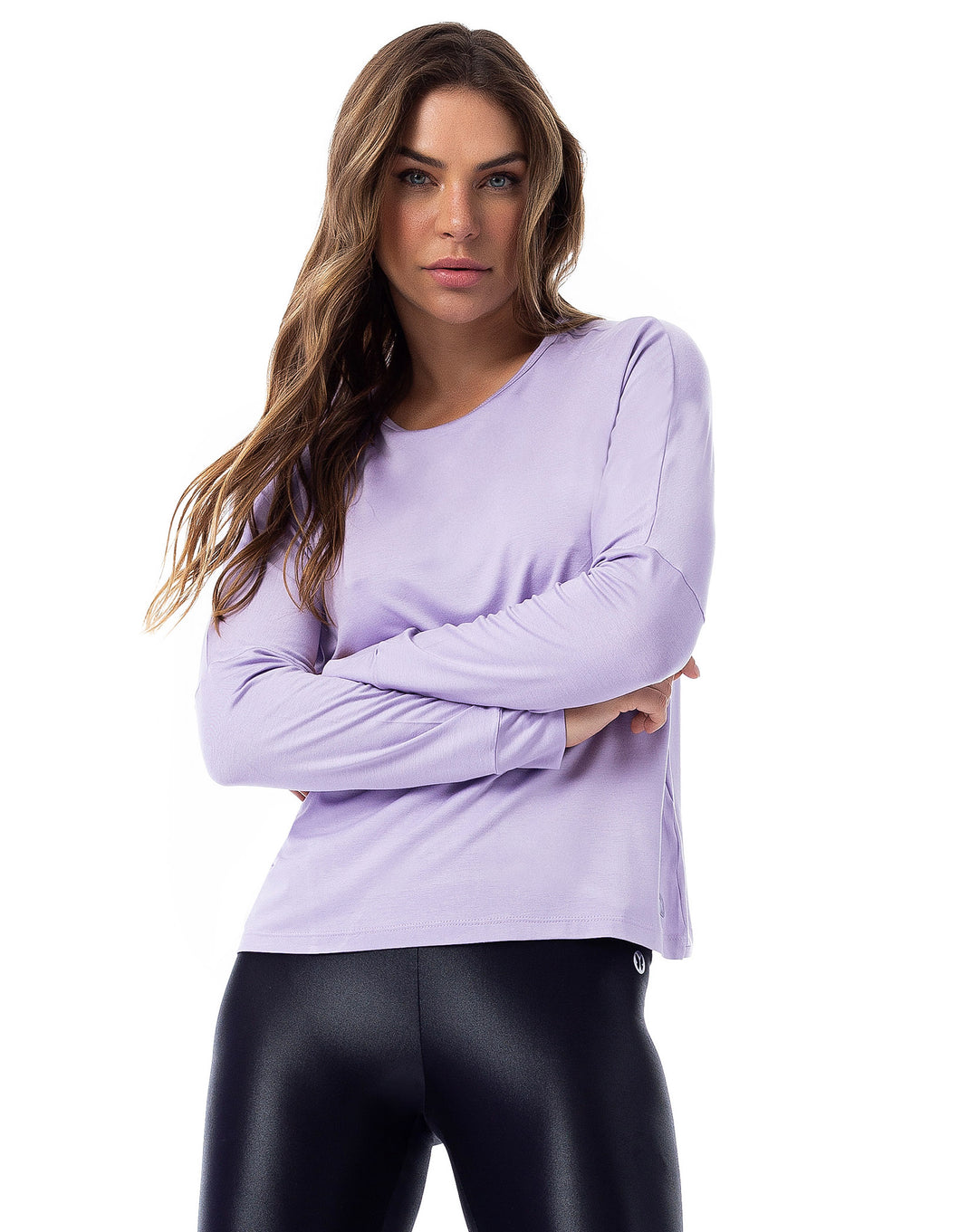 Long Sleeve Violet Shirt