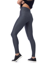 Load image into Gallery viewer, Gray Textured High Waist Legging