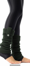 Load image into Gallery viewer, Fashion Leg Warmer (Available in Green and Navy Blue)