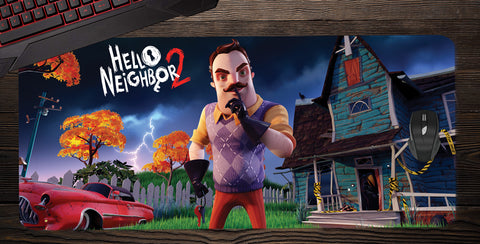 Hello Neighbor 2 Desk Mat