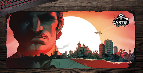 PRE-ORDER PRICE - Cartel Tycoon - Bloody Sunrise Mat