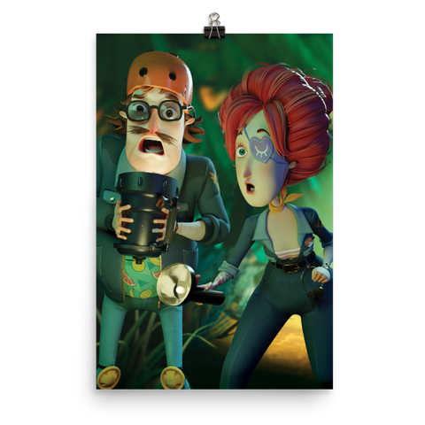 Hello Neighbor 2 - Quentin and Beatrix Poster