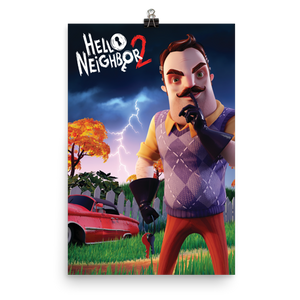 Hello Neighbor 2 - The Backyard Poster