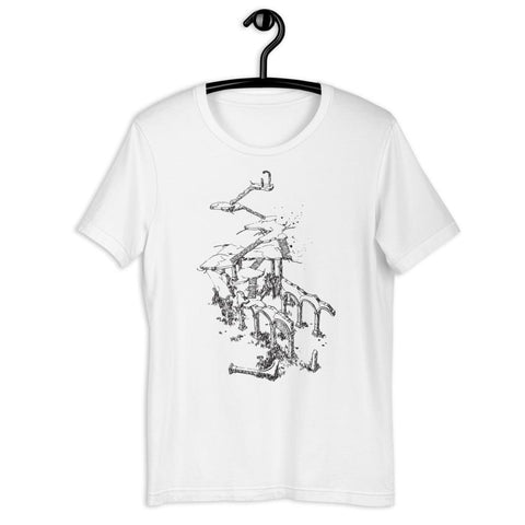 Pathologic Stairway Tee (White)