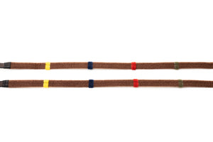 Correct Connect Reins in Black, Brown, with Markers, or Rainbow