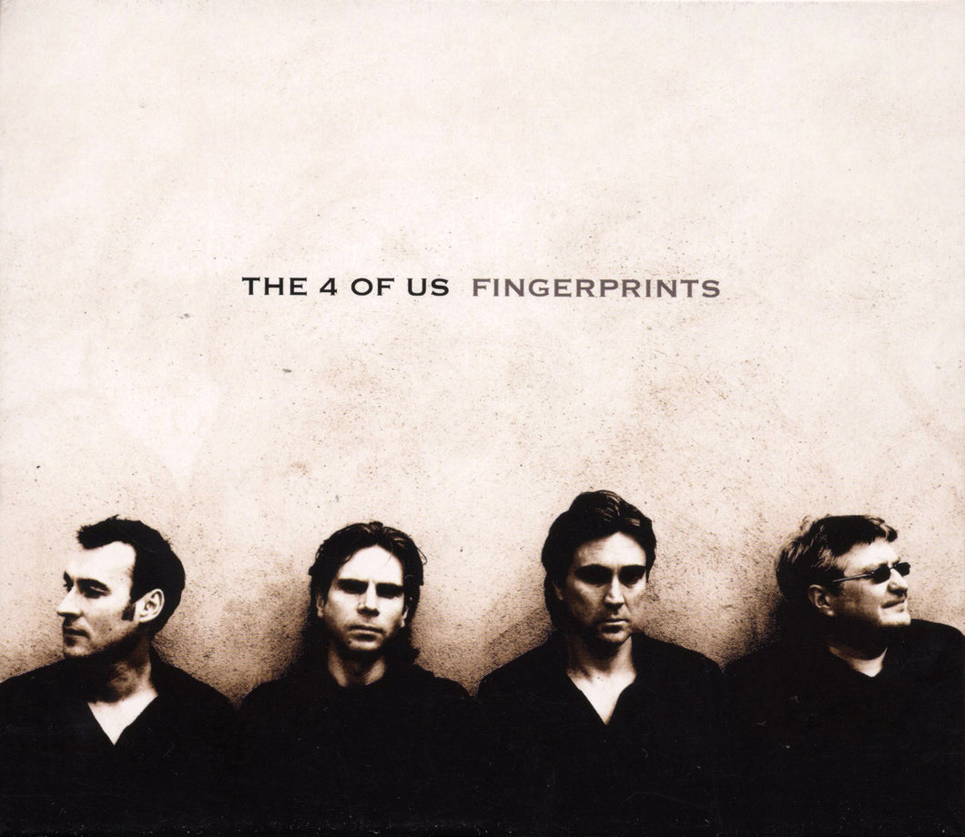 THE 4 OF US | Fingerprints - CD