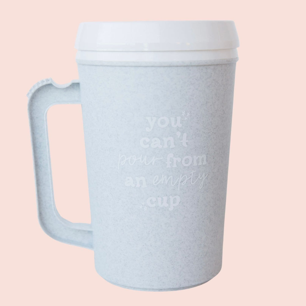 You Can't Pour From Empty Cup | Insulated Thermos