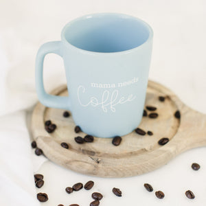 Load image into Gallery viewer, Mama Needs Coffee | Ceramic Coffee Mug - Shop Donuts and Daisies