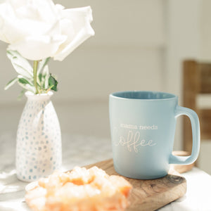 Mama Needs Coffee | Ceramic Coffee Mug - Shop Donuts and Daisies