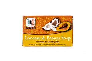 Ninon Coconut and Papaya Soap (5oz)