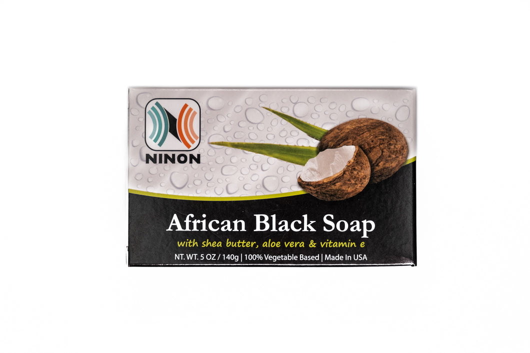 Ninon African Black Soap (5oz)