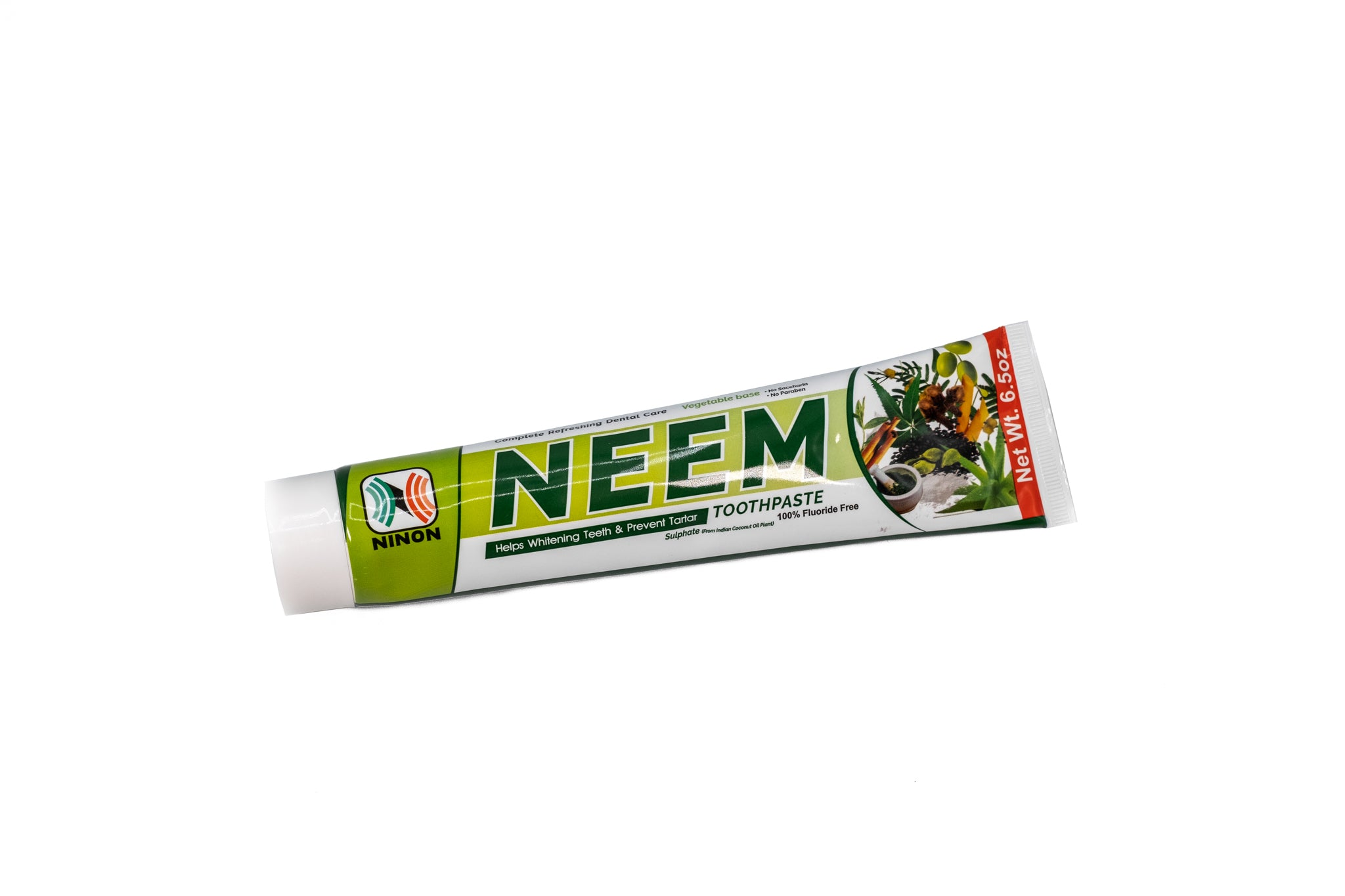 Ninon Tooth Paste Bundle (Neem Tooth Paste, Herbal Tooth Paste, Miswak Tooth Paste, & Charcoal Tooth Paste)
