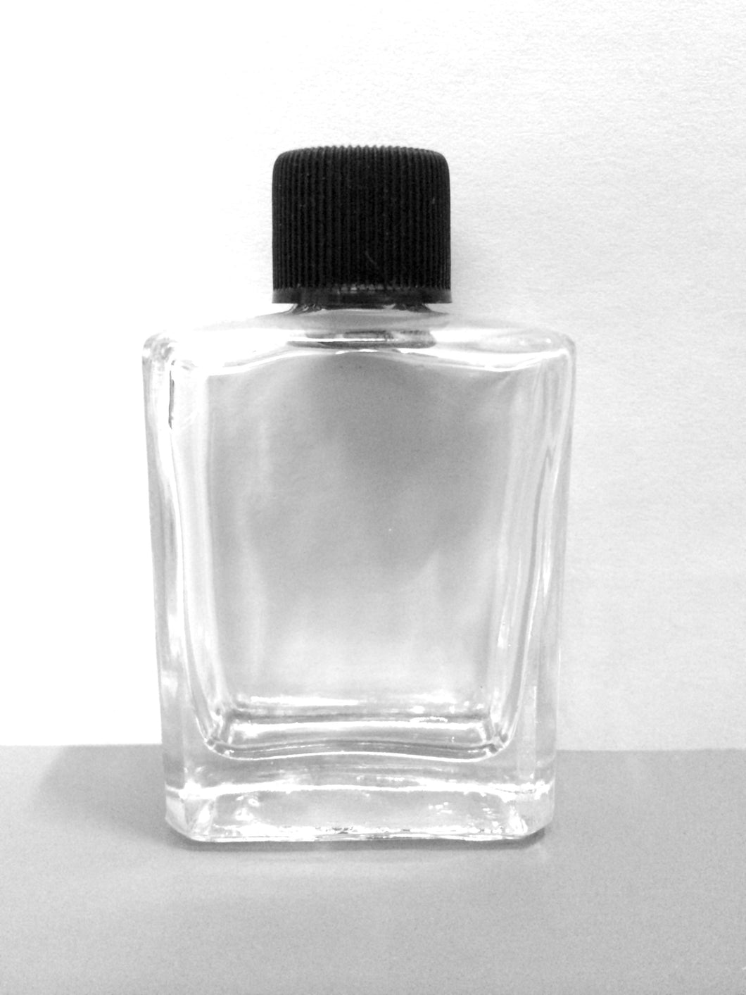 1/2 oz Rectangle Shape Bottle with Short Caps