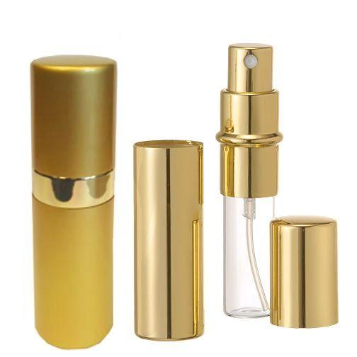 15 ml Purse Spray-Atomizer Gold