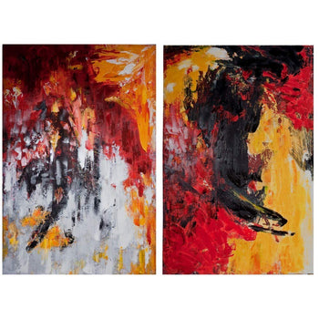 Canvas Wall Art, Multicolor, Set of 2