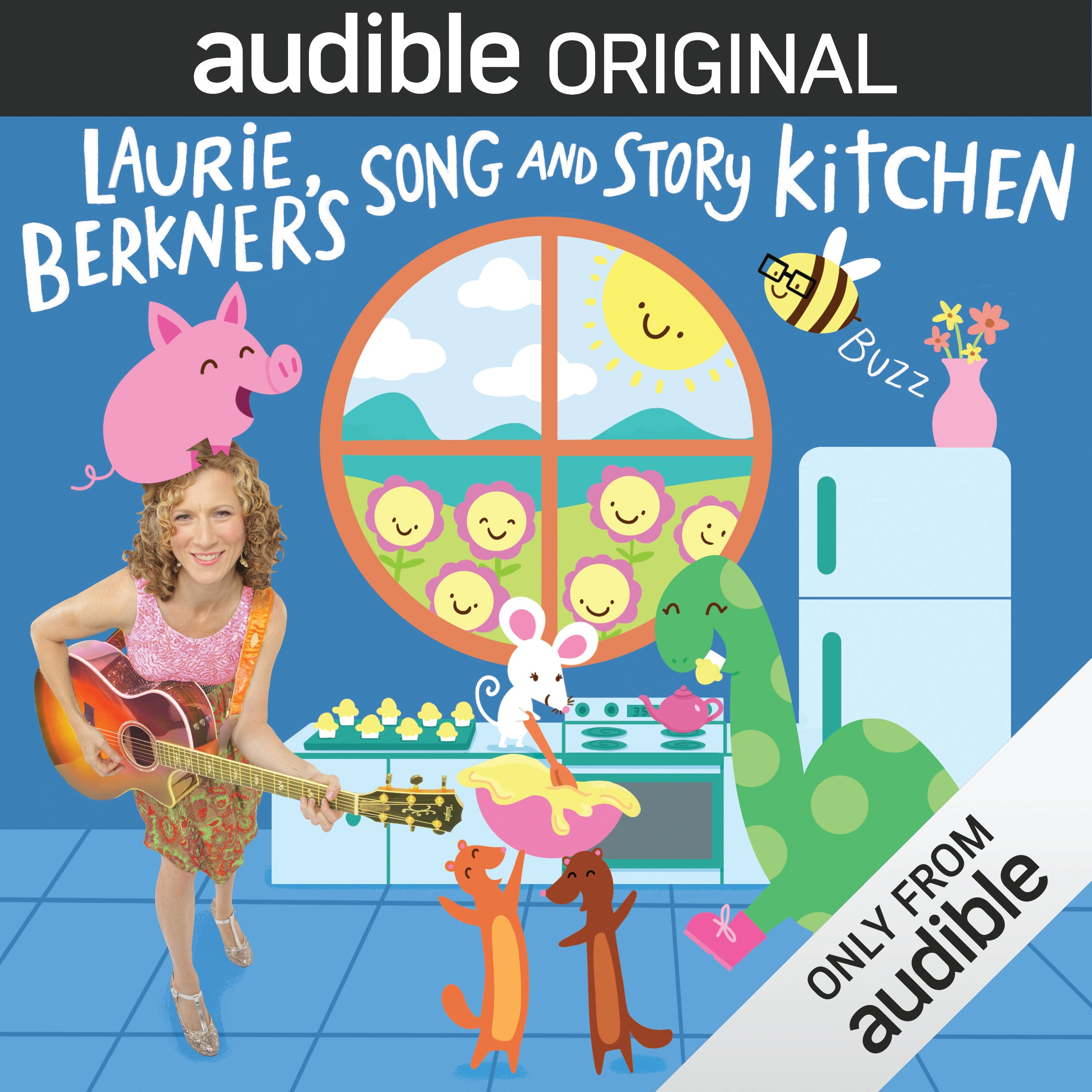 Audible Original: Laurie Berkner's Song and Story Kitchen, Season 1. 5 CD set with 10 episodes