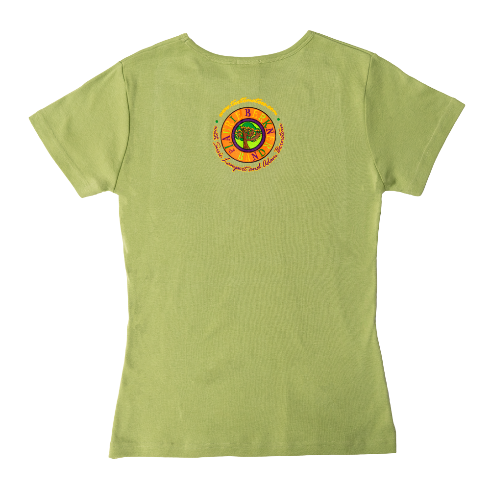 Blast Off! Ladies T-Shirt (Green)
