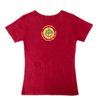 Load image into Gallery viewer, Ask Me What I Say . . . Ladies T-Shirt (Maroon)