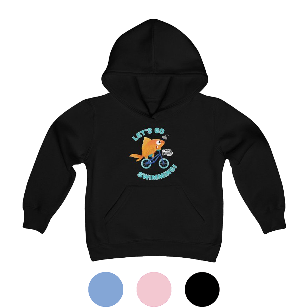 Let's Go Swimming Youth Hoodie