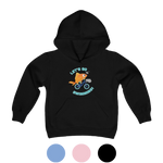 Load image into Gallery viewer, Let's Go Swimming Youth Hoodie