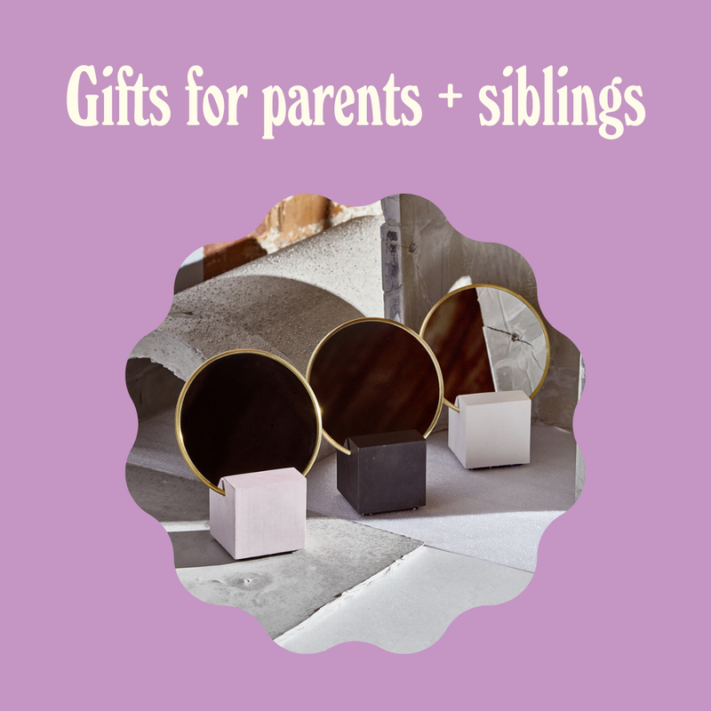 Goldune's Guide to Gifts for Parents + Siblings