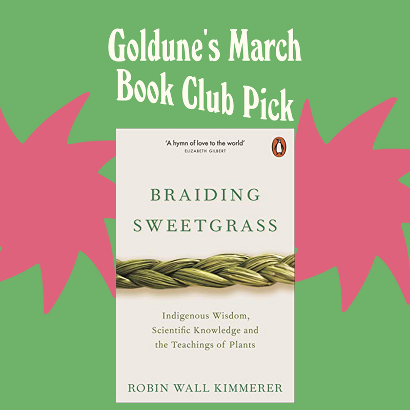 Braiding Sweetgrass: Our (Timeless!) Sustainable Book Club Pick for March