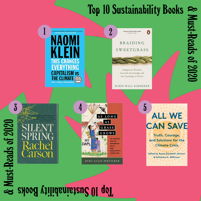 The Best Sustainability-Related Books We Read in 2020