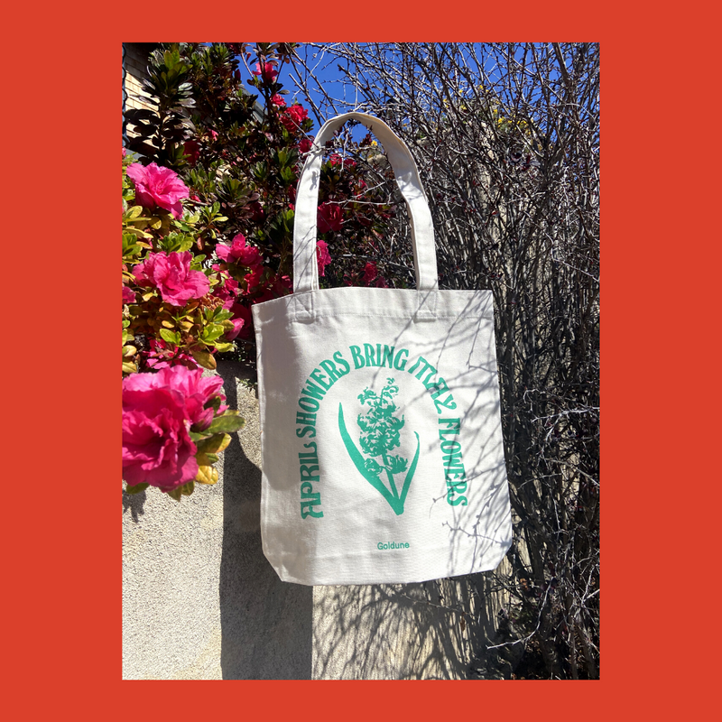 Goldune Limited Edition Spring Equinox Recycled Tote