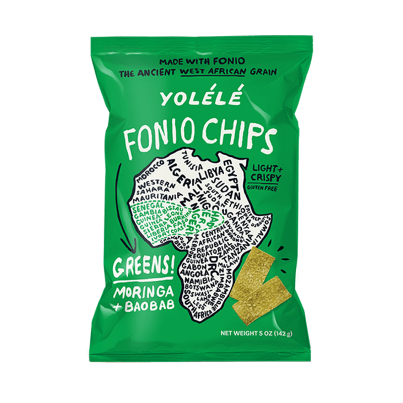 Greens Fonio Chip 4-Pack