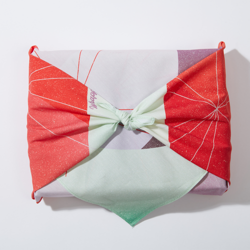 Reusable Artist-Designed Gift Wrap in Sweet Mint
