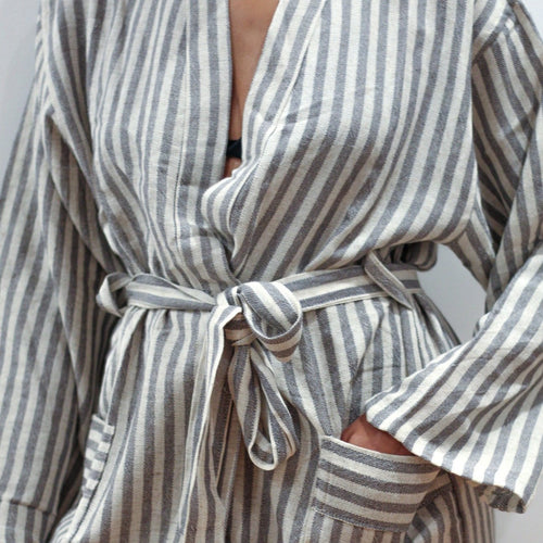 Grey Hammam Robe