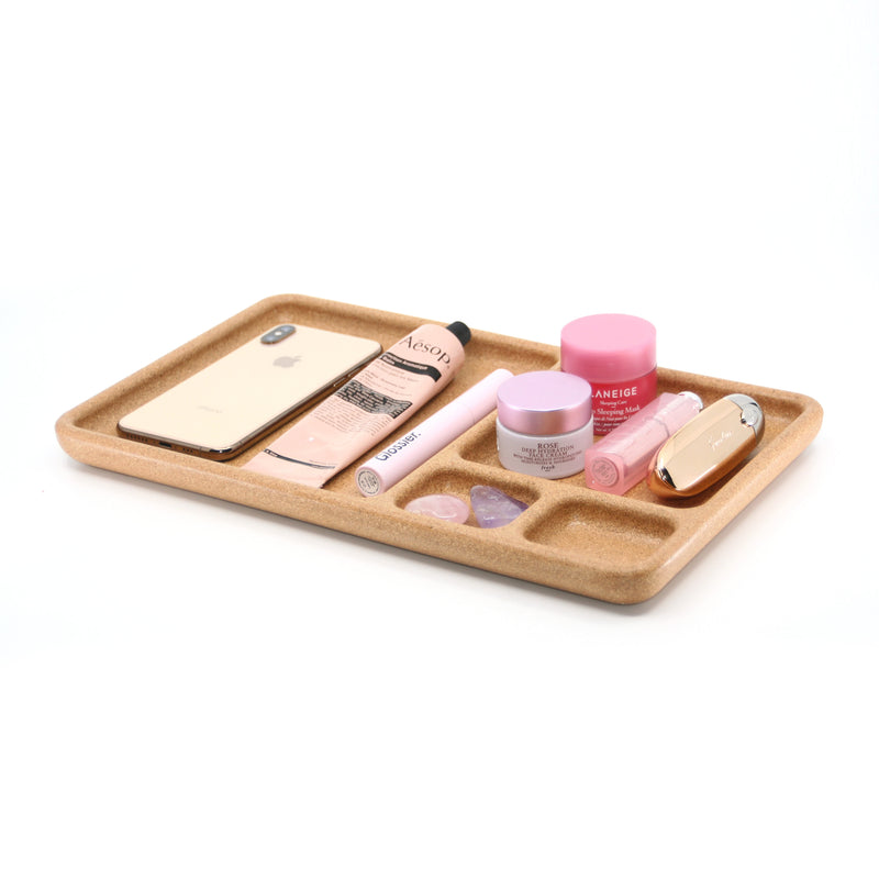 Salt Pond Cork Organizer Tray