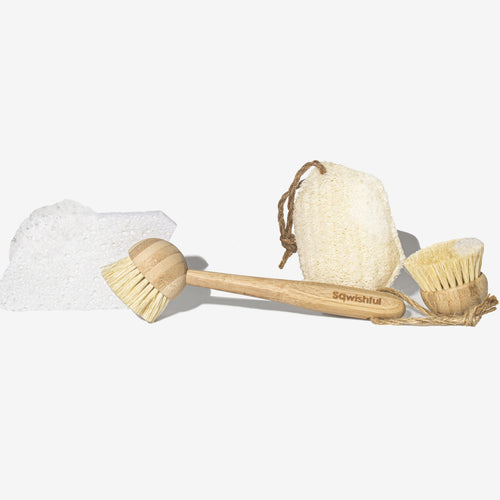 Zero Waste Cleaning Set