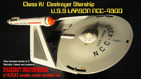 USS Larson VII Destroyer Starship