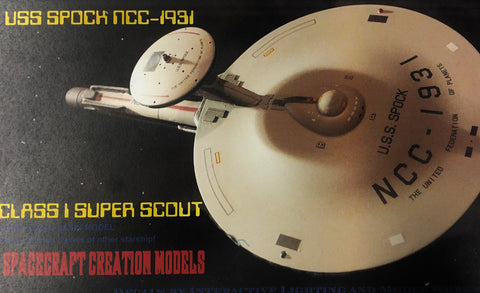 Super Scout Class Starship USS Spock
