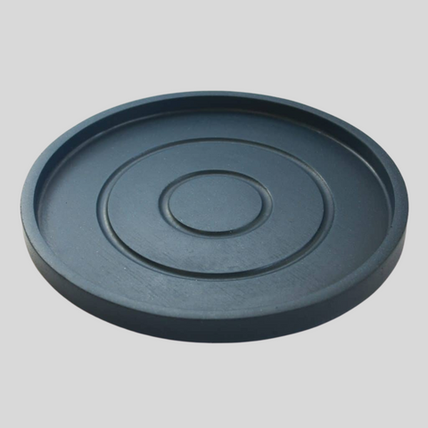 Large Round Tray in Navy