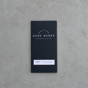 Bare Bones Chocolate - Dominican 68% Salted