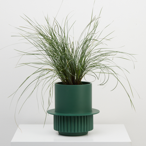 Roma Planter in Emerald