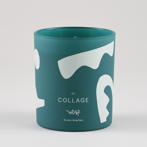 Collage Scented Candle