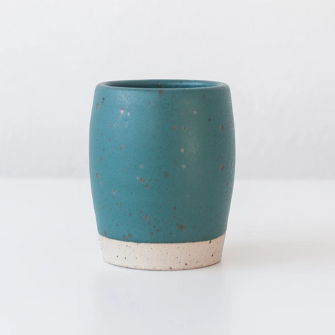Ceramic Coffee Cup in Nori Green
