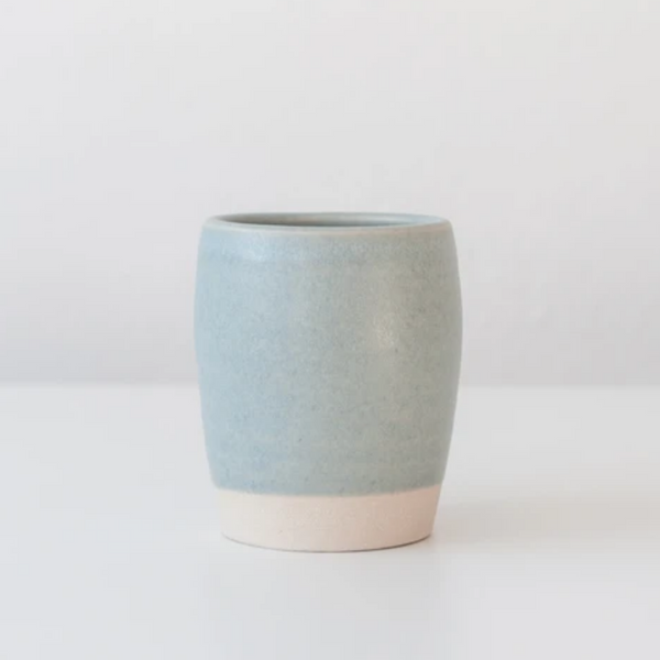 Ceramic Tumbler in Linen Blue