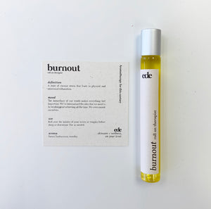 Burnout Roll On Therapist