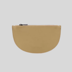Mondo Half Moon Purse in Straw